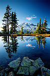 Mount Rainier National Park in Washington is by far one of my most favorite destinations to shoot.  Rainier is a beautiful volcano with so may lakes within the park that it gives any photographer a plethora of photographic opportunities.