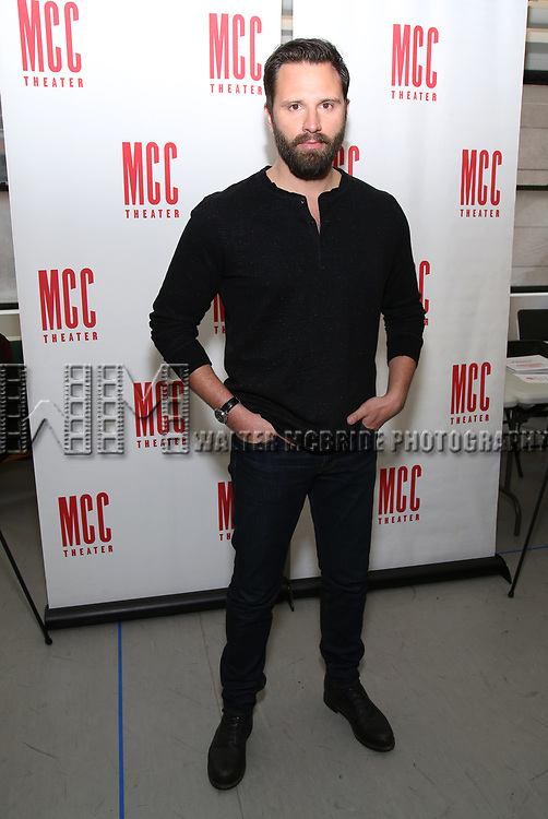 Quincy Dunn-Baker attend 'The End Of Longing' cast photocall at Roundabout Rehearsal Studio on April 20, 2017 in New York City.