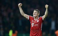 FUSSBALL       DFB POKAL FINALE        SAISON 2012/2013 FC Bayern Muenchen - VfB Stuttgart    01.06.2013 Bayern Muenchen ist Pokalsieger 2013: Bastian Schweinsteiger (FC Bayern Muenchen) jubelt nach dem Abpfiff