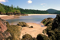 Cape Scott Provincial Park, Northern Vancouver Island, BC, British Columbia, Canada - Rugged Beach at San Josef Bay