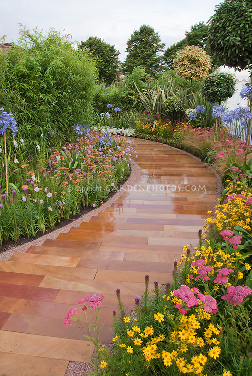 Beautiful Flower Garden Path wwwimgarcadecom Online