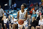 20 November 2016: North Carolina's Paris Kea. The University of North Carolina Tar Heels hosted the Bucknell University Bisons at Carmichael Arena in Chapel Hill, North Carolina in a 2016-17 NCAA Women's Basketball game. UNC won the game 65-50.