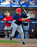 7 March 2009: Washington Nationals' infielder Kory Casto in action during a Spring Training game against the New York Mets at Tradition Field in Port St. Lucie, Florida. The Nationals defeated the Mets 7-5 in the Grapefruit League matchup. Mandatory Photo Credit: Ed Wolfstein Photo