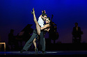 London, UK. 30.01.2013. Tango Fire Company presents FLAMES OF DESIRE at the Peacock Theatre. Picture shows: German Cornejo and Gisela Galeassi. Photo credit: Jane Hobson.