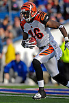 4 November 2007: Cincinnati Bengals wide receiver Glenn Holt initiates a 100 yard kick return against the Buffalo Bills at Ralph Wilson Stadium in Orchard Park, NY. The Bills defeated the Bengals 33-21 in front of a sellout crowd of 70,745...Mandatory Photo Credit: Ed Wolfstein Photo