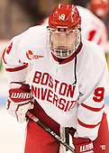 Kieffer Bellows (BU - 9) - The Boston University Terriers tied the visiting Providence College Friars 2-2 on Saturday, December 3, 2016, at Agganis Arena in Boston, Massachusetts.