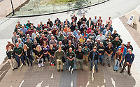 UVM Physical Plant All Hands Meeting.  Physical Plant Group Photo.