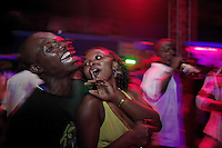 Fly Zone Night Club on the Entebbe Road.  Planes fly over from Entebbe Airport... thus the name.  Club scenes are always full of young people but this club caters to the 18-22 group of students and young newly employed set.