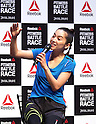 Anne Nakamura at Reebok Fitness Battle Race promotion event
