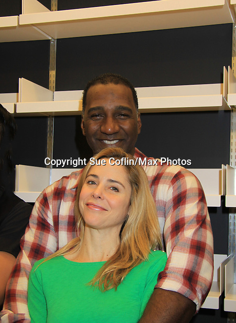 "Rehearsals for Ragtime starring One Life To Live Kerry Butler ""Claudia Reston"" and All My Children Norm Lewis ""Keith McLean"" & now Scandal, on February 11 next Monday February 18, 2013 for a concert at Avery Fisher Hall, New York City, New York . (Photo by Sue Coflin/Max Photos)"