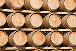 Chile Wine Country: Barrels at Undurraga Winery near Santiago..Photo #: ch436-32839..Photo copyright Lee Foster, 510-549-2202, www.fostertravel.com, lee@fostertravel.com.