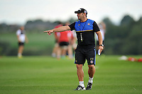 Bath Rugby First team coach Darren Edwards in action. Bath Rugby training session on September 4, 2015 at Farleigh House in Bath, England. Photo by: Patrick Khachfe / Onside Images