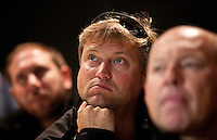 Transat Jacques Vabre 2011. Le Havre. France.Pictures of Alex Thomson, skipper of Hugo Boss
