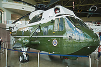 Marine One Helicopter, Reagan Presidential Library exhibit,   Simi Valley California