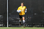 02 October 2011: Virginia Tech's Dayle Colpitts. The Duke University Blue Devils defeated the Virginia Tech Hokies 1-0 at Koskinen Stadium in Durham, North Carolina in an NCAA Division I Women's Soccer game.