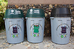 Recycling Caontainers, Sendero las orquideas (orchid trail)