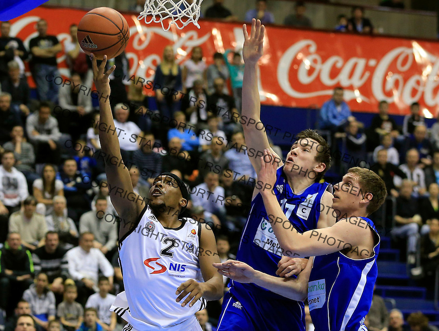 Kosarka ABA League season 2014-2015<br /> Partizan v Zadar<br /> Beograd, 15.03.2015.<br /> foto: Srdjan Stevanovic/Starsportphoto&copy;