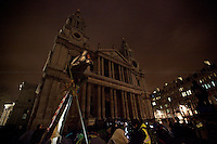 27.02.2012 - Occupy LSX - The eviction of St Paul's Camp