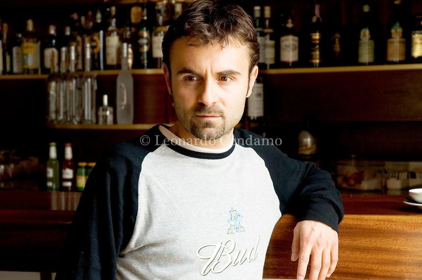 Marco Archetti, italian writer, Como, maggio 2005. © Leonardo Cendamo