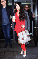 NEW YORK, NY- MARCH 22: Vanessa Hudgens  seen in New York City on March 22, 2017. Credit: RW/MediaPunch