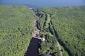 Montreal River, Gogebic county, Upper Peninsula of Michigan.