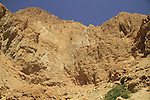 Dead Sea valley, Nahal salvadora at the foothill of Haetekim Cliff