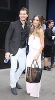 NEW YORK, NY-September 07: Jana Kramer, Gleb Savchenko at The Stars of Dancing with Stars Season 23 revealed at GMA in New York. NY September 07, 2016. Credit:RW/MediaPunch