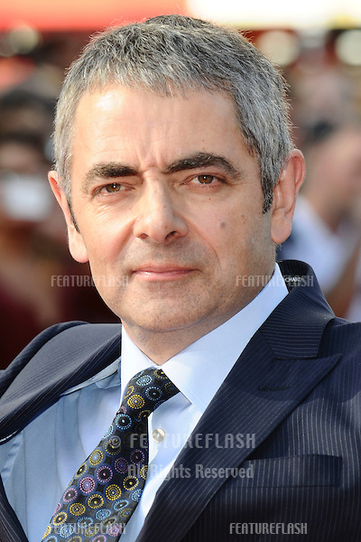 """Rowan Atkinson arrives for the""""Johnny English Re-Born"""" premiere at the Empire Leicester Square, London. 02/09/2011 Picture by: Steve Vas / Featureflash"""