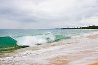 Surf at Bluff Beach, Bocas del Toro; Colon Island; Panama