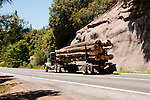 Logging Truck near Pinecrest, California, USA.  Photo copyright Lee Foster.  Photo # california121502