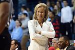 31 January 2013: FSU head coach Sue Semrau. The University of North Carolina Tar Heels played the Florida State University Seminoles at Carmichael Arena in Chapel Hill, North Carolina in an NCAA Division I Women's Basketball game. UNC won the game 72-62.