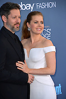 Amy Adams &amp; Darren Le Gallo at the 22nd Annual Critics' Choice Awards at Barker Hangar, Santa Monica Airport. <br /> December 11, 2016<br /> Picture: Paul Smith/Featureflash/SilverHub 0208 004 5359/ 07711 972644 Editors@silverhubmedia.com