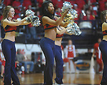 Rebelettes dance at the C.M. &quot;Tad&quot; Smith Coliseum in Oxford, Miss. on Tuesday, February 1, 2011. Ole Miss won 71-69.