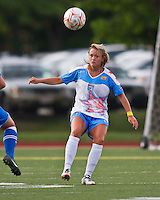 Chicago Red Stars defender Sammy Scofield (8).  The Boston Breakers beat the Chicago Red Stars 1-0 at Dilboy Stadium.