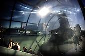 Warsaw 24.04.2008 Poland<br /> Warsaw dweller goes out from subway to work<br /> (Photo by Adam Lach / Napo Images for Newsweek Polska)<br /> <br /> Warszawiacy wychodza z metra do pracy<br /> (Fot Adam Lach / Napo Images dla Newsweek Polska)