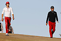 (L to R) Ryo Ishikawa, Toru Taniguchi, DECEMBER 4, 2011 - Golf : Ryo Ishikawa and Toru Taniguchi go to green during the 14th hole during the 48th Golf Nippon Series JT Cup Final Round at Tokyo Yomiuri Country Club, Tokyo, Japan. (Photo by Yusuke Nakanishi/AFLO SPORT) [1090]
