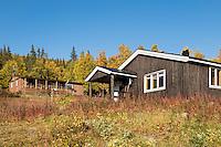 STF Aktse hut, kungsleden trail, Lapland, Sweden