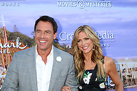 BEVERLY HILLS, CA - JULY 27: Mark Steines, Debbie Matenopoulos at the Hallmark Channel and Hallmark Movies and Mysteries Summer 2016 TCA press tour event on July 27, 2016 in Beverly Hills, California. Credit: David Edwards/MediaPunch
