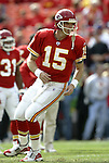 31 October 2004: Todd Collins. The Kansas City Chiefs defeated the Indianapolis Colts 45-35 at Arrowhead Stadium in Kansas City, MO in a regular season National Football League game..