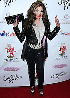 BEVERLY HILLS, CA, USA - SEPTEMBER 13: La Toya Jackson arrives at the Brent Shapiro Foundation For Alcohol And Drug Awareness' Annual 'Summer Spectacular Under The Stars' 2014 held at a Private Residence on September 13, 2014 in Beverly Hills, California, United States. (Photo by Xavier Collin/Celebrity Monitor)