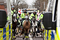 05.02.2011 - Luton, EDL Demonstration and UAF Counter-Demonstration