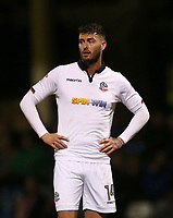 Bolton Wanderers' Gary Madine<br /> <br /> Photographer Rob Newell/CameraSport<br /> <br /> The EFL Sky Bet League One - Gillingham v Bolton Wanderers - Tuesday 14th March 2017 - MEMS Priestfield Stadium - Gillingham<br /> <br /> World Copyright &copy; 2017 CameraSport. All rights reserved. 43 Linden Ave. Countesthorpe. Leicester. England. LE8 5PG - Tel: +44 (0) 116 277 4147 - admin@camerasport.com - www.camerasport.com
