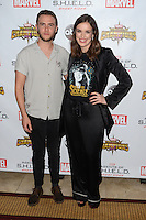 LOS ANGELES, CA - SEPTEMBER 19: Iain De Caestecker and Elizabeth Henstridge at the premiere of ABC's 'Agents of Shield' Season 4 at Pacific Theatre at The Grove on September 19, 2016 in Los Angeles, California.  Credit: David Edwards/MediaPunch