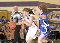 Guerin Girls Basketball vs Chatard 1-4-13