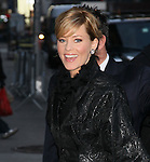 """Celebrities visit """"Late Show with David Letterman"""" New York, Ny January 16, 2012"""