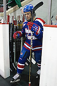Adam Chapie (UML - 13) - The visiting University of Massachusetts Lowell River Hawks defeated the Boston University Terriers 3-0 on Friday, February 22, 2013, at Agganis Arena in Boston, Massachusetts.