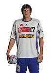 Handball Bundesliga 2005/2006 Autogrammkarten Concordia Delitzsch Rico GOEDE (Concordia) Autogrammkarte, Portrait, Ball, Studio, Freisteller.