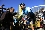 Arman Kamyshev (KAZ) Astana Pro Team at sign on for the 115th edition of the Paris-Roubaix 2017 race running 257km Compiegne to Roubaix, France. 9th April 2017.<br /> Picture: Eoin Clarke | Cyclefile<br /> <br /> <br /> All photos usage must carry mandatory copyright credit (&copy; Cyclefile | Eoin Clarke)