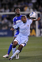 Marvell Wynne #22, Kei Kamara...Kansas City Wizards defeated Colorado Rapids 1-0 at Community America Ballpark, Kansas City,Kansas.
