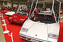 May 22, 2010 - Tokyo, Japan - Vintage Ferrari sport cars are on display during the 'Tokyo Nostalgic Car Show' held at the Tokyo Big Sight Exhibition Center, in Tokyo, Japan on May 22, 2010. This year marks the 20th anniversary of the show's existence.